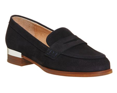 Office Deluxe metal heel loafers