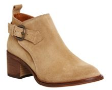 Office Jeopardy low cut buckle boots