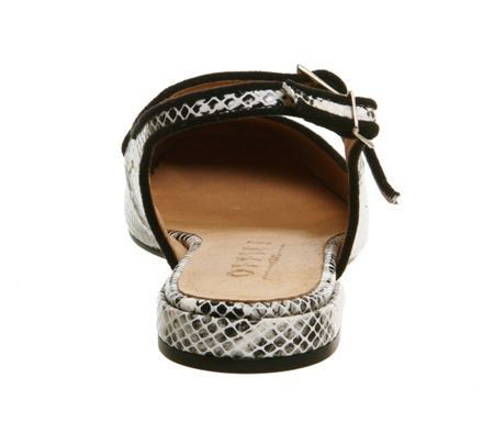 Office Dimples slingback mary jane flats