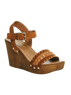 Madeira wedge sandals