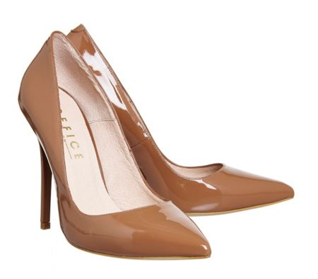 Office Onto pointed court shoes