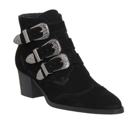 Office Jagger buckle ankle boot