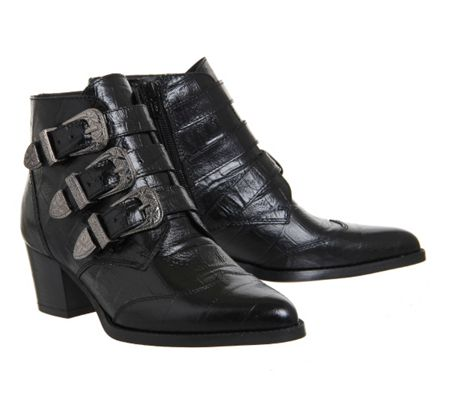 Office Jagger buckle boots