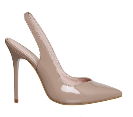 Office Amplify slingback point court heels
