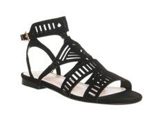 Office Barhop cut out sandals