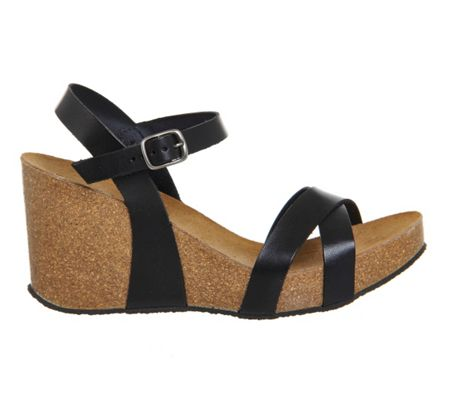 Office Mystery cork wedges