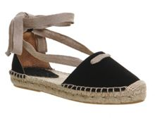 Office Drummer lace up espadrilles