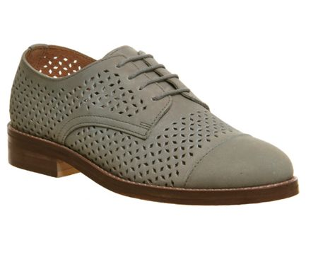 Office Ditto perforated lace up shoes