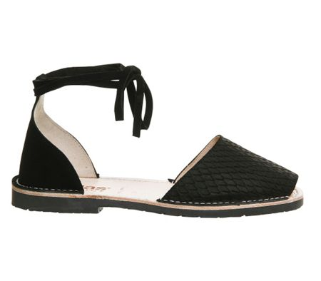 Solillas Ankle tie sandals