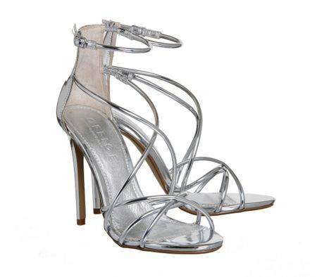 Office Angel tubular sandals