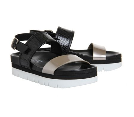 Office Milan footbed sandals