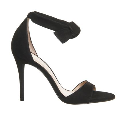 Office Act tie ankle sandals