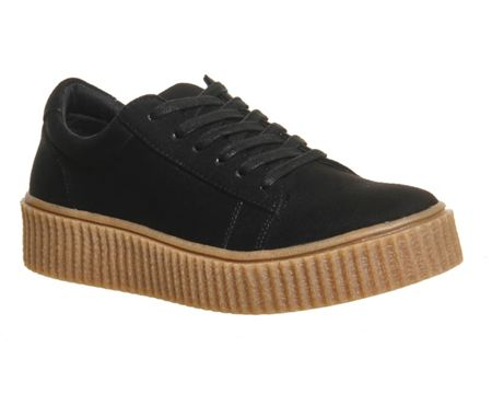 Office Dipsy creeper sole trainers