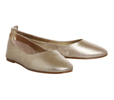 Office Primrose high vamp ballerina flats