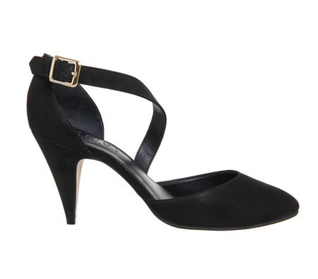 Office Forget me not court heels