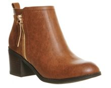 Office Lola double zip boots