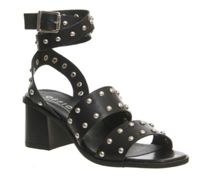 Office Fan girl studded sandals