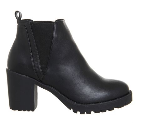 Office Limit chunky chelsea boots