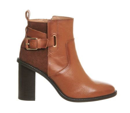 Office Lively smart heeled boots
