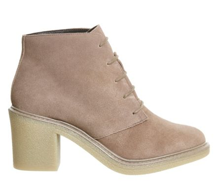 Office Lulu lace up ankle boots