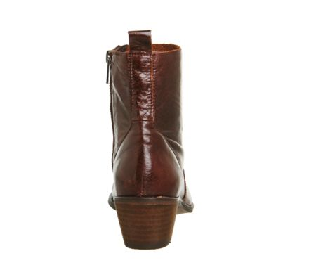 Office Leighton unlined western boots
