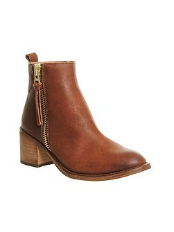 Lennox casual side zip boots