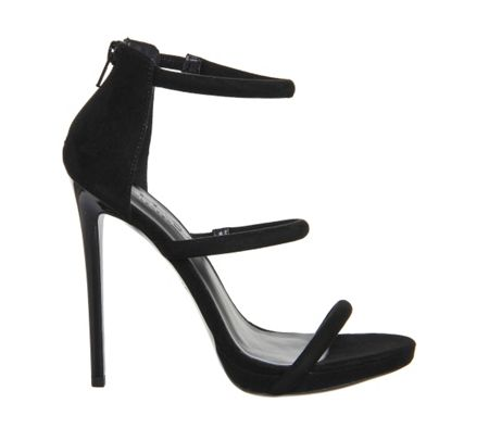 Office Nectar 3 strap platform sandals