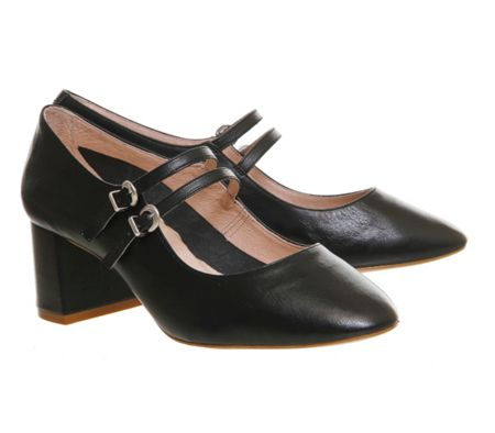 Office Mindy mary jane block heels