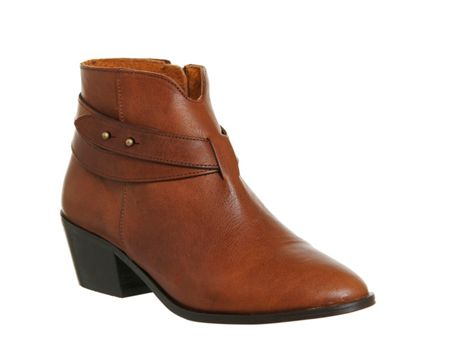 Office Loyal strap detail boots