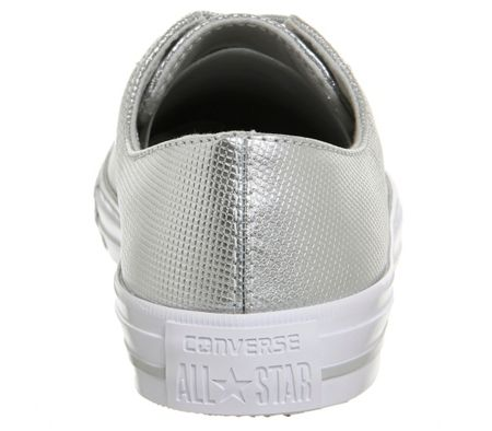 Converse Ctas gemma low leather trainers