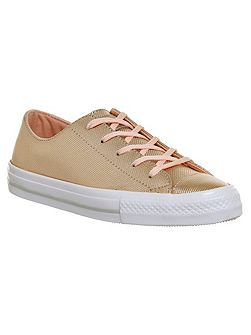 Ctas gemma low leather trainers