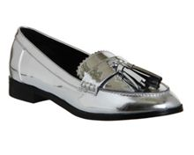 Office Pinball tassel loafers