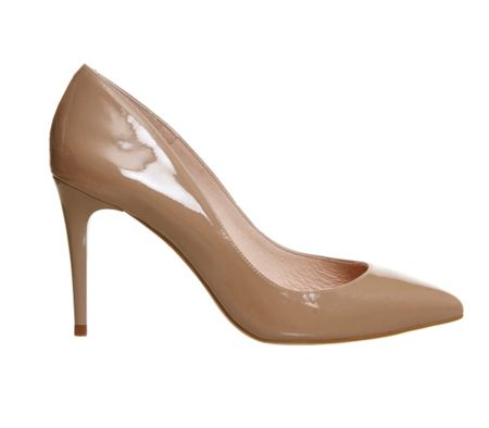Office Fleur point court heels