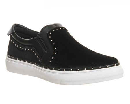 Office Precious studded slip on trainers