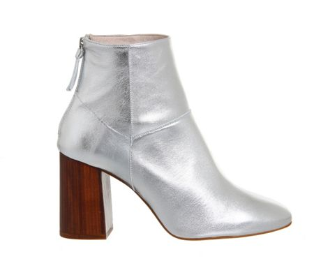 Office Lavender high heel boots