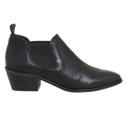 Office Festival western block heel shoeboots
