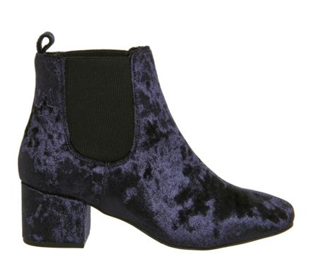 Office Love bug block heel chelsea boots