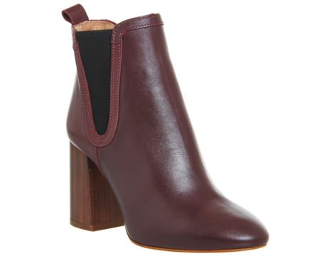 Office Lily pad chelsea boots