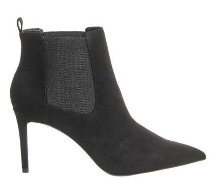 Office Ladies night pointed stiletto boots