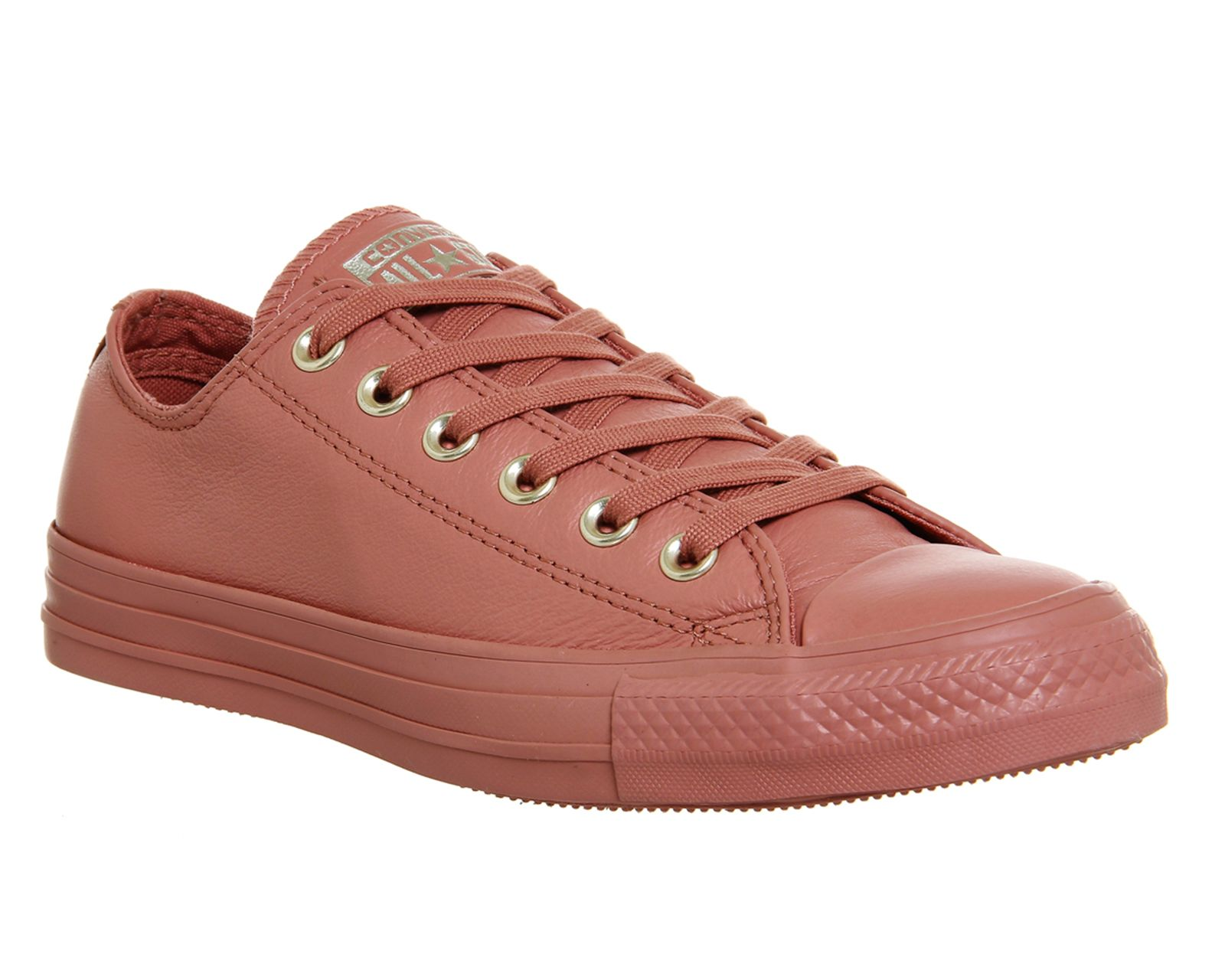 Converse All star low leather trainers Sand