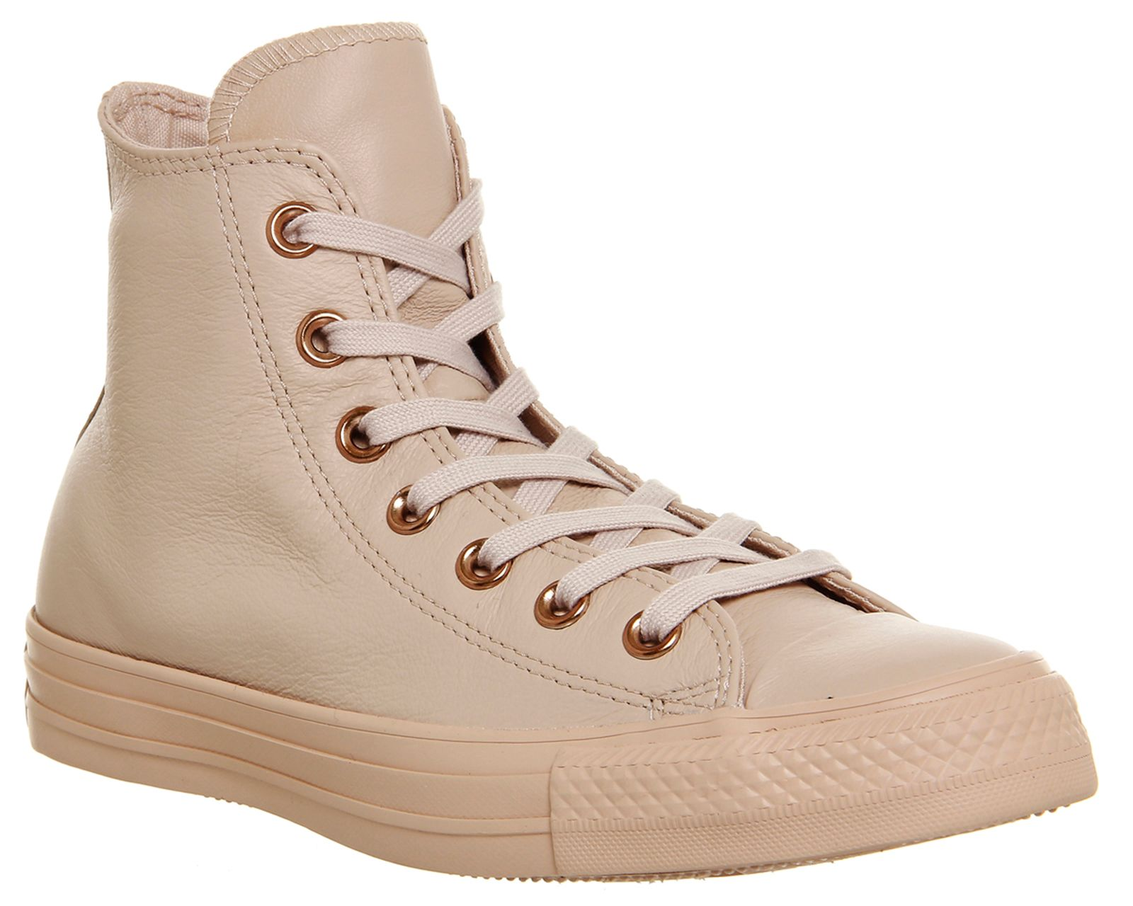 Converse All star high leather trainers Brown