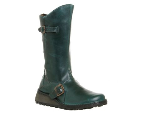 Fly Fly mes wedge calf boots
