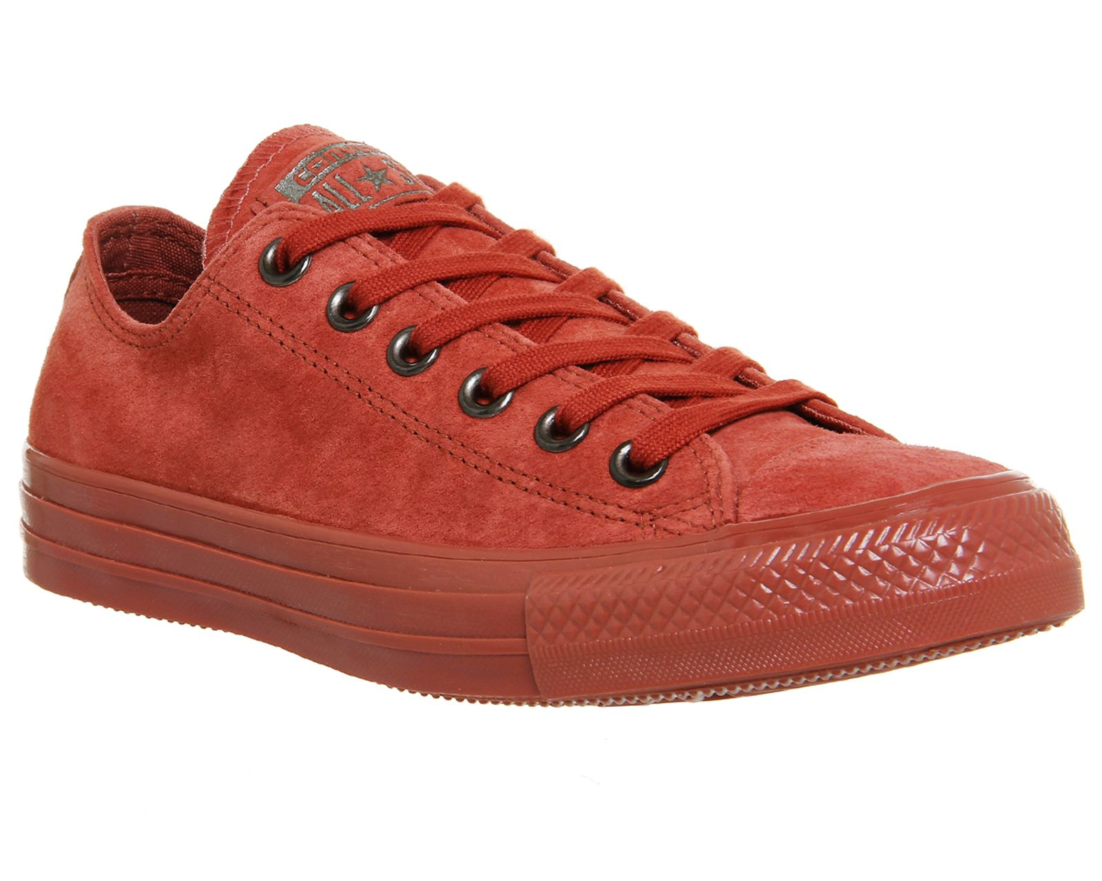 Converse All star low leather trainers Red