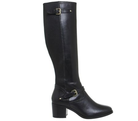 Office Kennedy mid heel riding boots