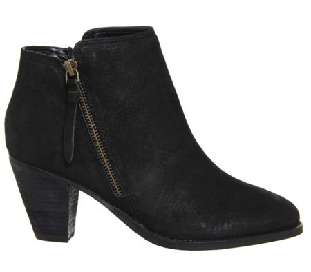 Office Lately side zip ankle boots