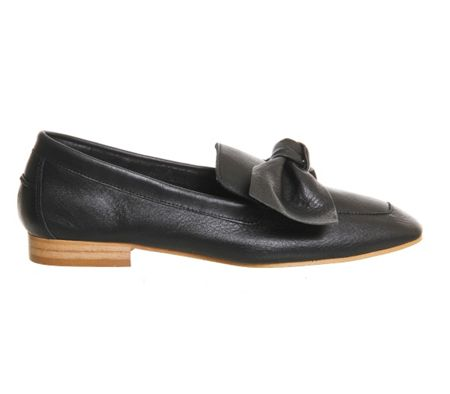 Office Possum bow loafers