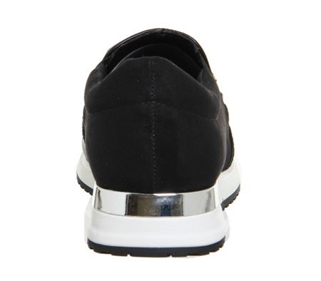 Office Pansy gem slip on trainers