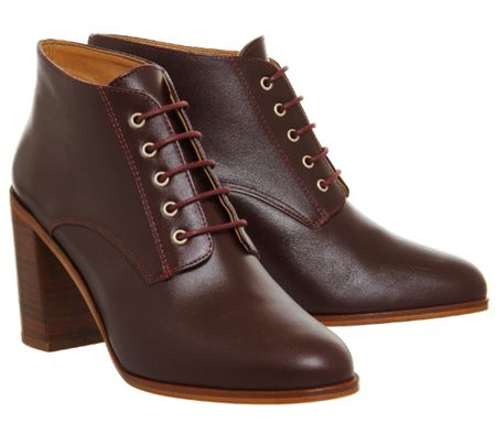 Office Landgirl lace up boots