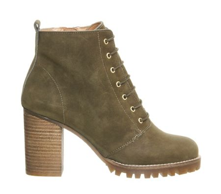 Office Loose lipped ankle boots