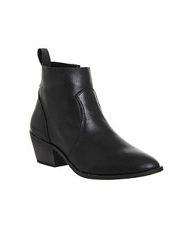 Leigh unlined western boots
